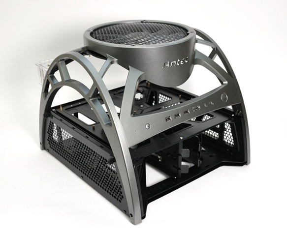 antec skeleton open air pc case released reviewed