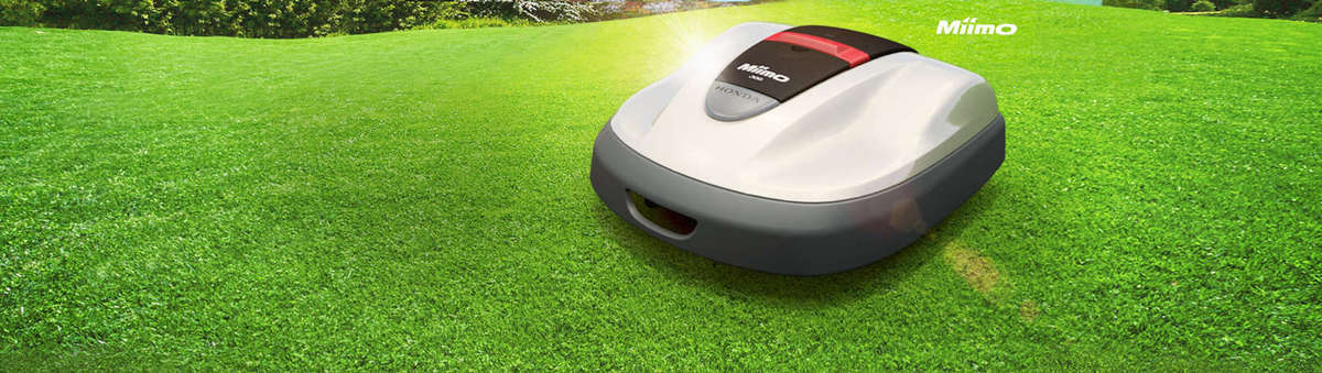 Introducing Miimo, Honda's Robotic Lawn Mower