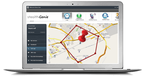 StealthGenie cell phone tracking software