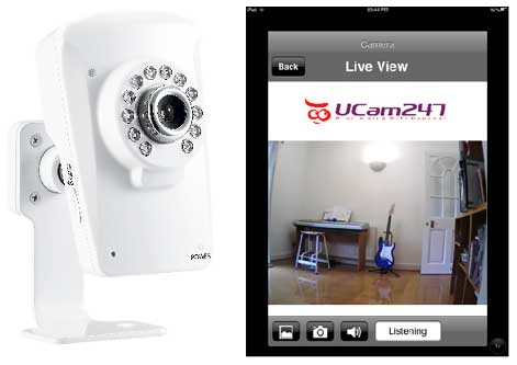 UCam247i-HD Review: Plug and Play IP CCTV