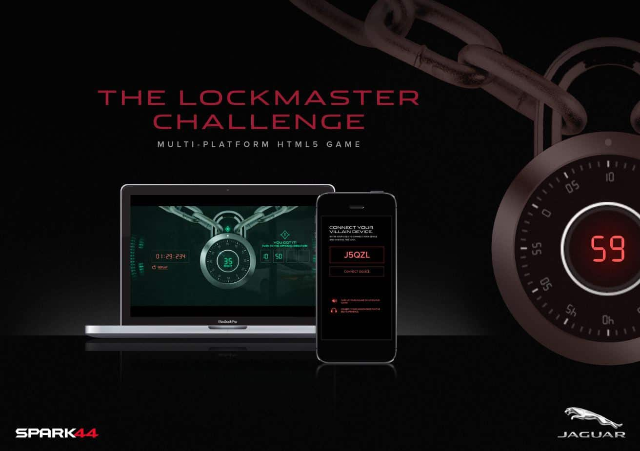 Win a Jaguar F-TYPE track day with the Lockmaster Challenge.