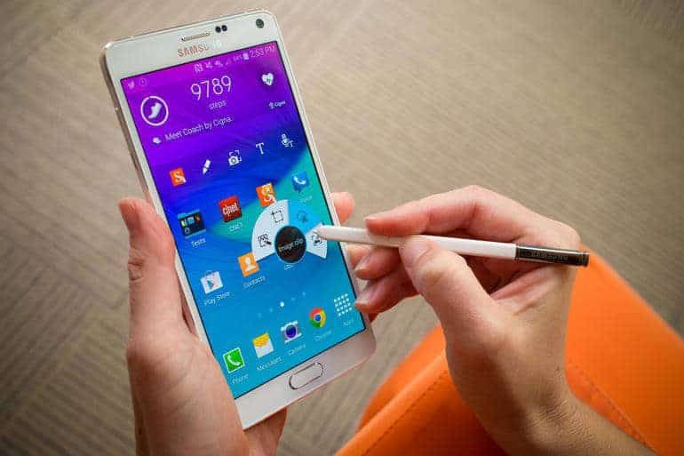 Samsung Note 4 and Smart Homes