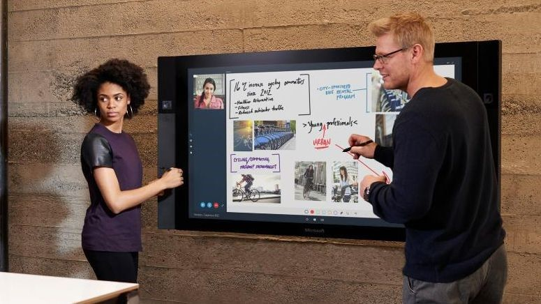 Behind the Scenes of the Microsoft Surface Hub