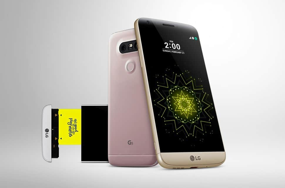 LG G5 Announced – A modular Android Smartphone