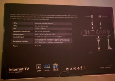 OTT M8S Android TV Box Review 5