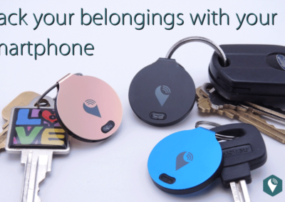 TrackR Bravo Bluetooth Lost and Found Tracker Review 1