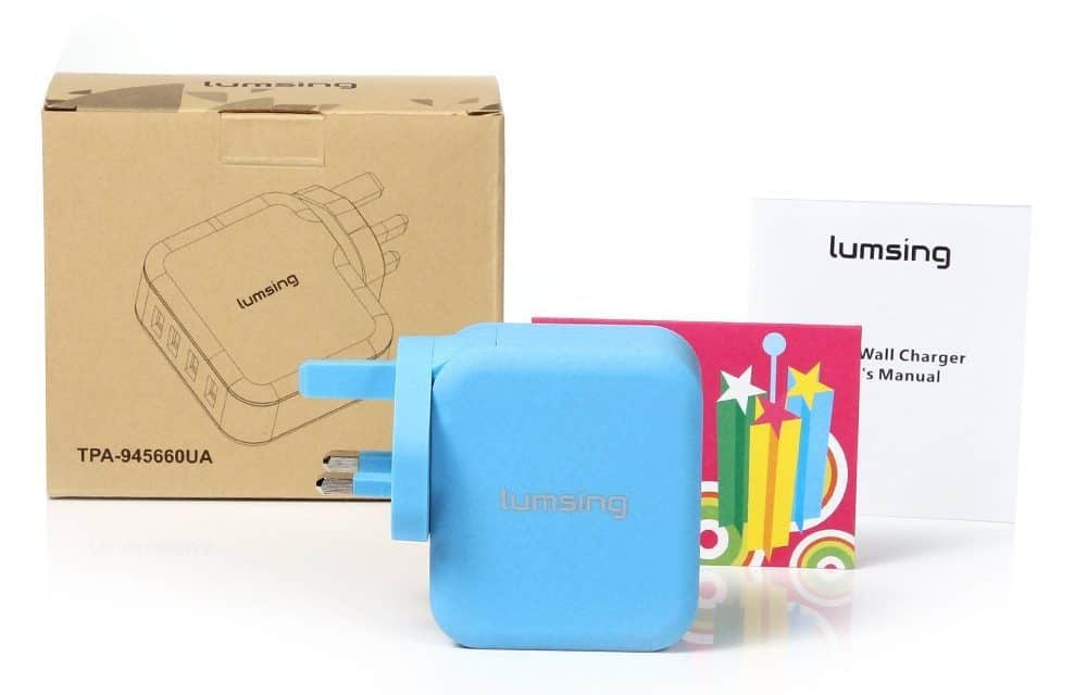 Lumsing 4 Port Wall Charger Mini Review