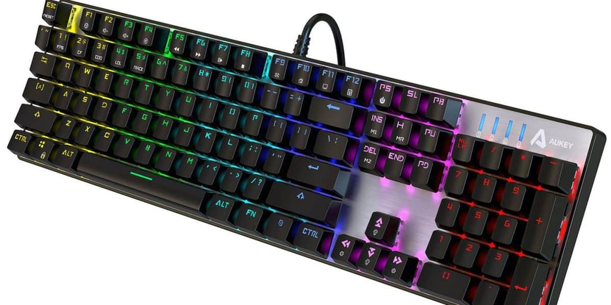 Aukey KM-G3 Mechanical Keyboard with Outemu Blue Switches Review