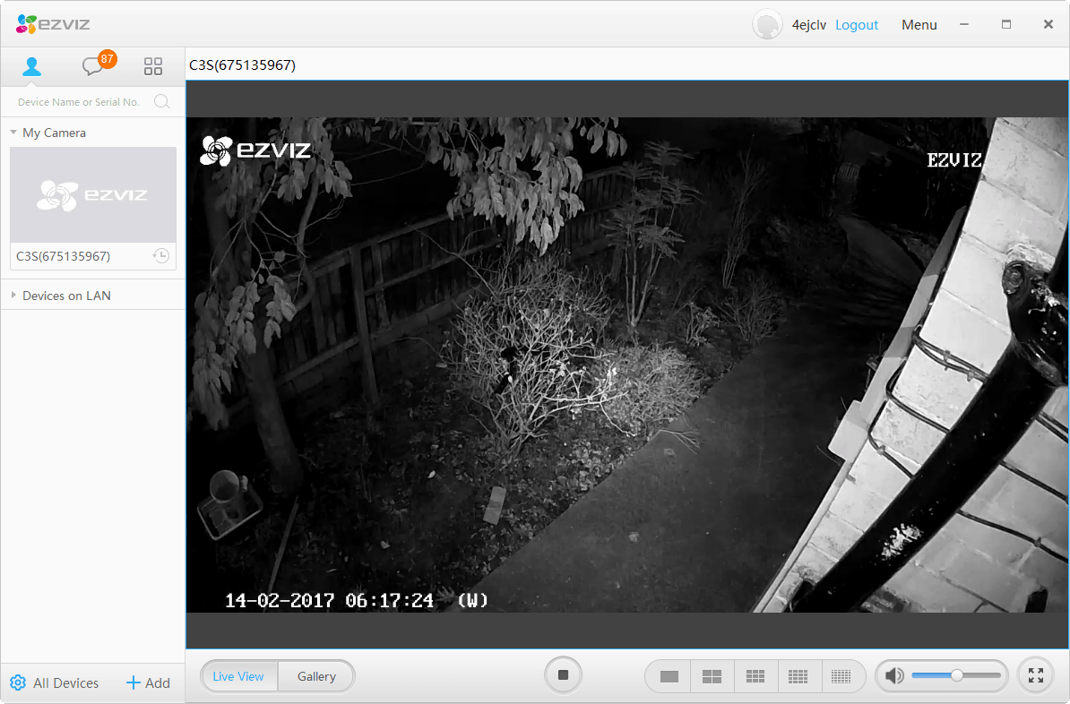 Ezviz Husky Bullet EZ-C3S-WIFI Outdoor Wifi IPCCTV Camera Review