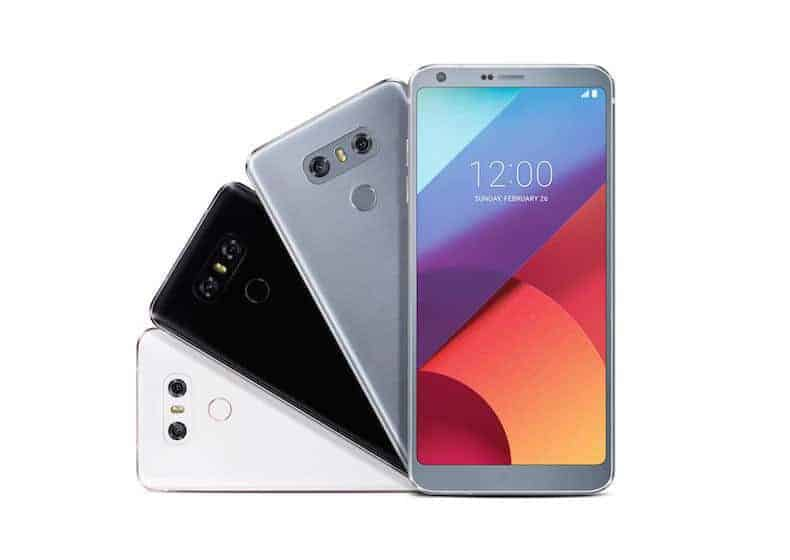 LG G6 officially announced. Less ingenuity and more practicality