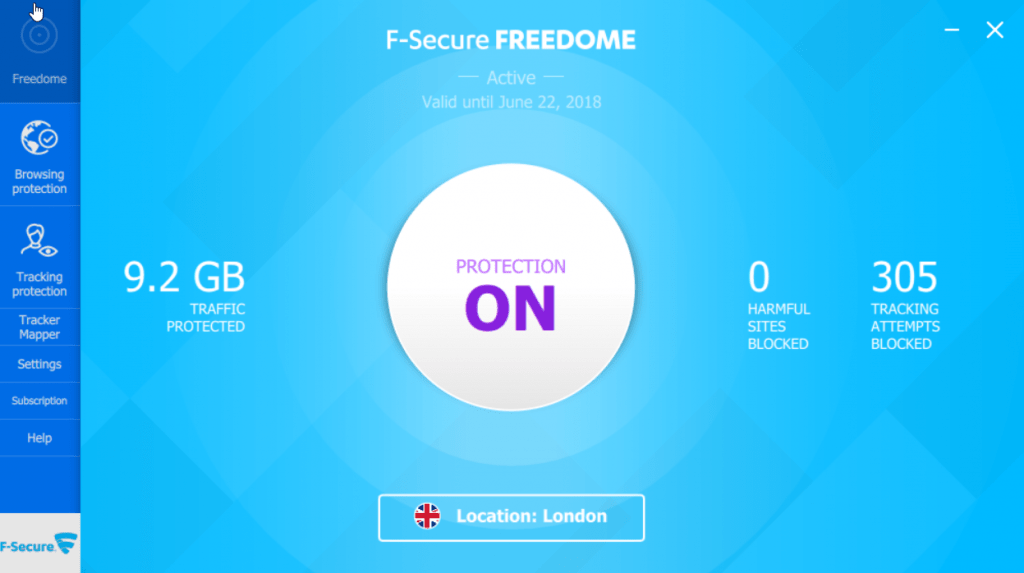 F-Secure Total Internet Security and VPN Review 6