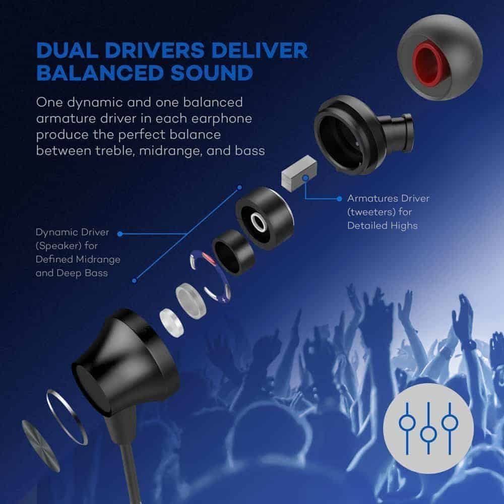 VAVA Dual Driver Earphone Review 2