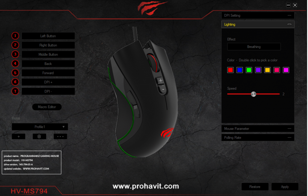 Havit Programmable Gaming Mouse Review with 4000DP & RGB - HV-MS794 3