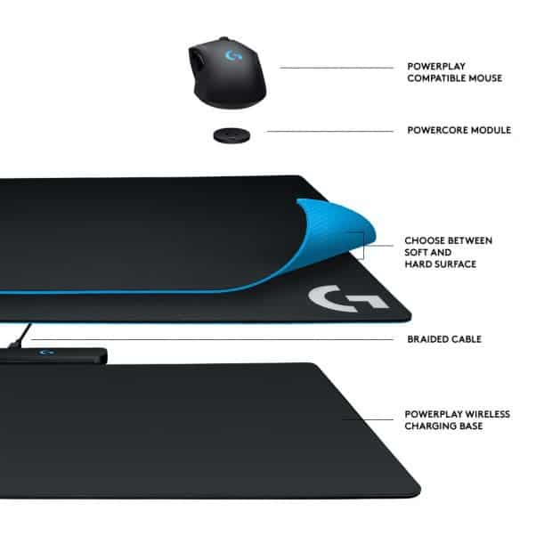 Logitech Lightspeed G703 Gaming Mouse & PowerPlay Wireless Charging Pad Review 2