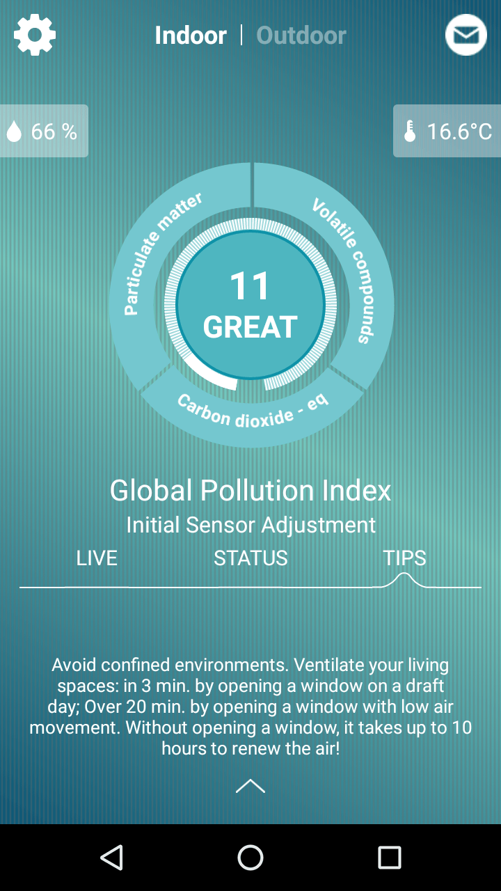 Foobot indoor air quality monitor review 5