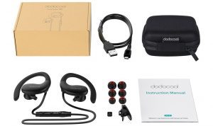 Dodocool Wireless Stereo Sports In-Ear Headphone Review 2