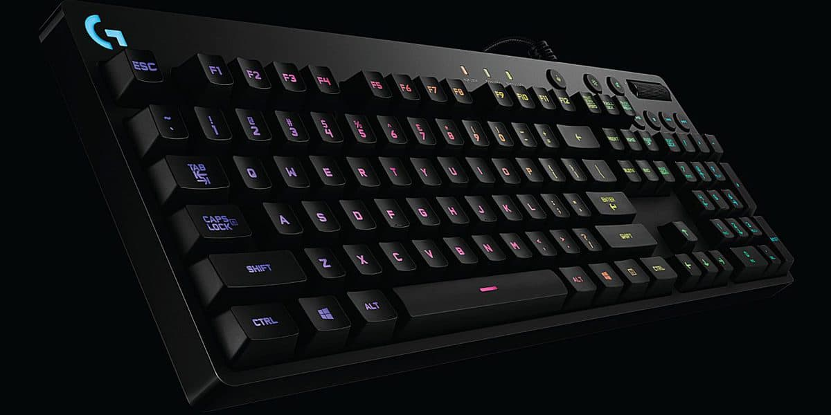 Logitech G810 Orion Spectrum RGB Mechanical Gaming Keyboard Review