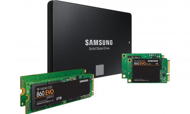 Samsung Launch 860 PRO SSD from £126.49 and 860 EVO Solid State Drive from £90.49