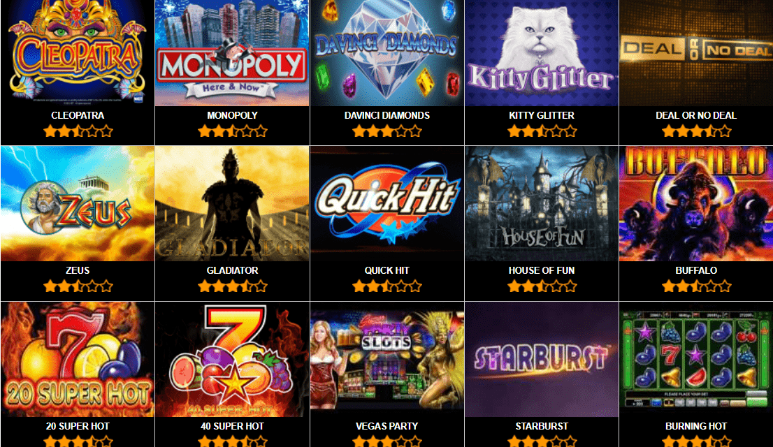 Top Ten Best Free Online Slots Providers