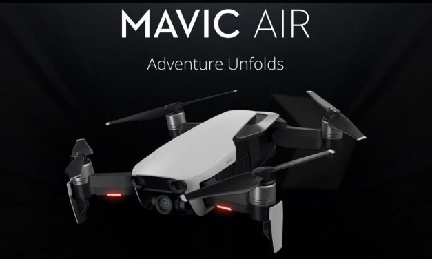 DJI Mavic Air Ultra Portable Drone Launched