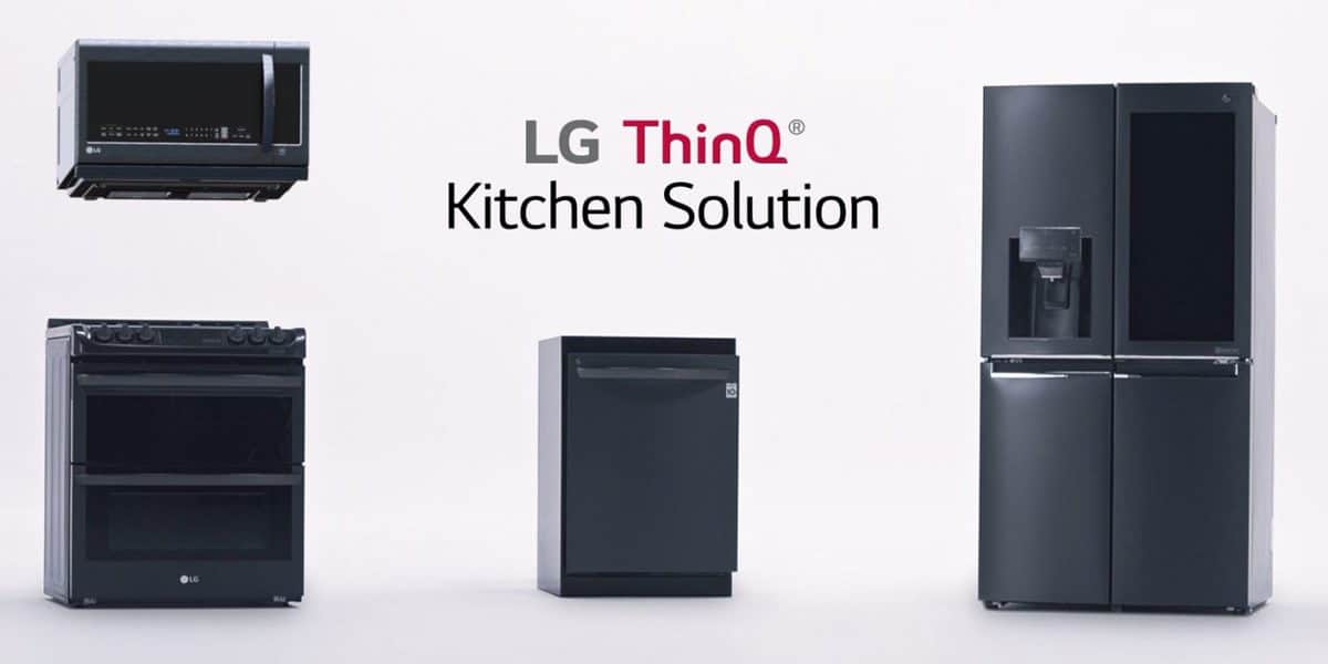 LG ThinQ Smart Kitchen – Alexa powered smart fridge, oven and dishwasher all talk to each other