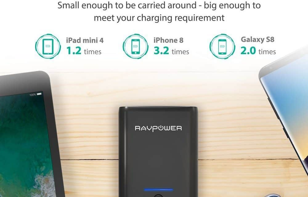 Win a RAVPower 10000mAh Battery Pack