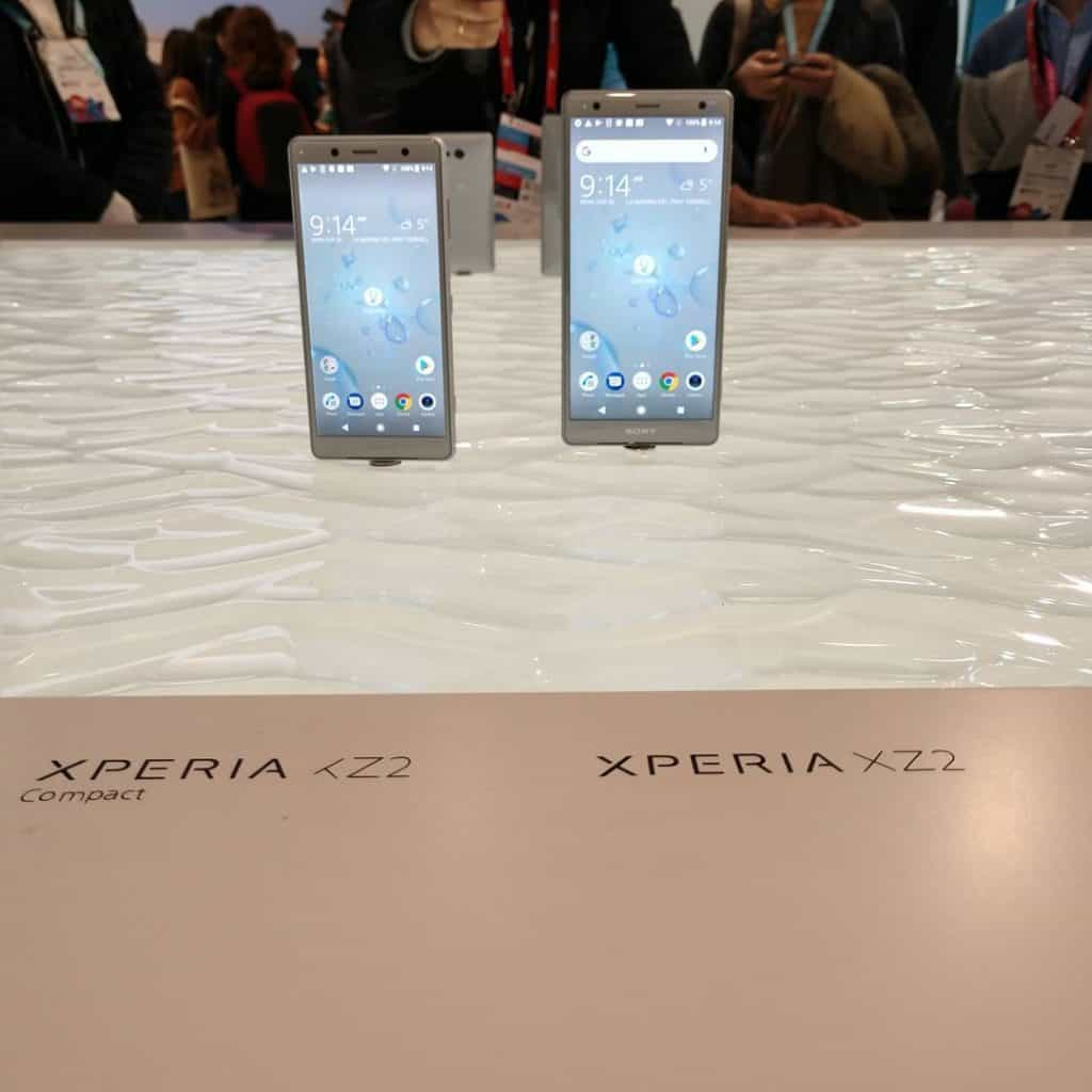 Sony Xperia XZ2 and XZ2 Compact Announcement & First Impressions at #MWC18 2