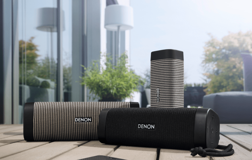 Denon Envaya Bluetooth speaker range for music on the move, in any situation