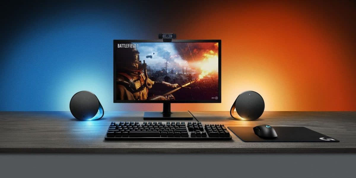 Logitech G Announces New PC Gaming Speaker and Mechanical Keyboard with LIGHTSYNC
