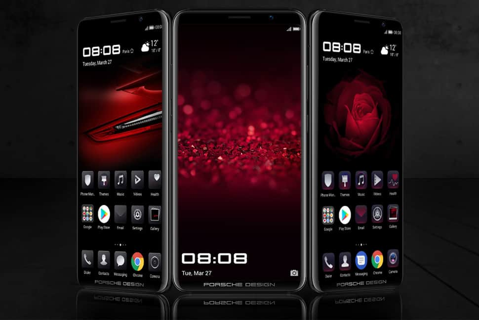 huawei mate rs announced porsche design p20 with in. Black Bedroom Furniture Sets. Home Design Ideas