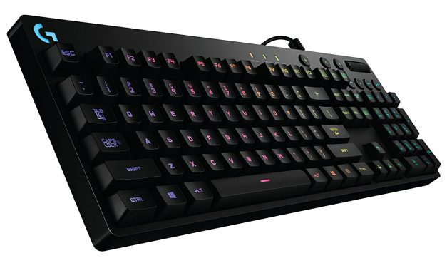 Win a Logitech G810 Orion Spectrum RGB Mechanical Gaming Keyboard