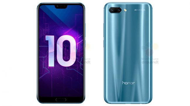 Honor 10 specification leaked in full nearly a month before release + in-screen variant 3