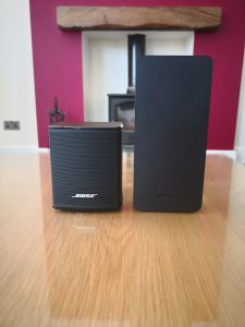 Bose Virtually Invisible 300 Wireless Rear Surround Speakers Review 4