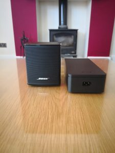 Bose Virtually Invisible 300 Wireless Rear Surround Speakers Review 5