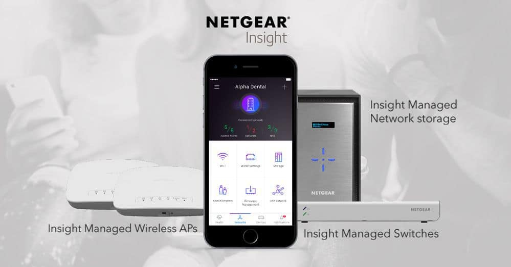 Netgear Insight WAC540 4x4 AP, Orbi Pro Ceiling with POE and
