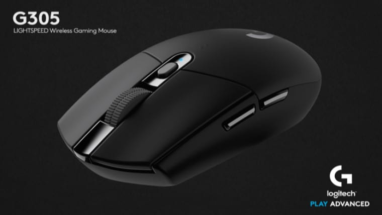 logitech g305 lightspeed wireless mouse makes gaming mice affordable. Black Bedroom Furniture Sets. Home Design Ideas