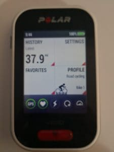 Polar V650 GPS Bike Computer Review 2018 - Now with Strava Live Segments 11