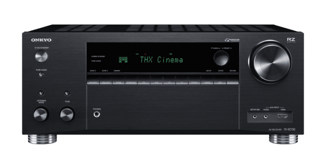 Onkyo Launch TX-RZ730 and TX-RZ830 9.2-channel A/V Receivers with HDR10/HLG/Dolby Vision