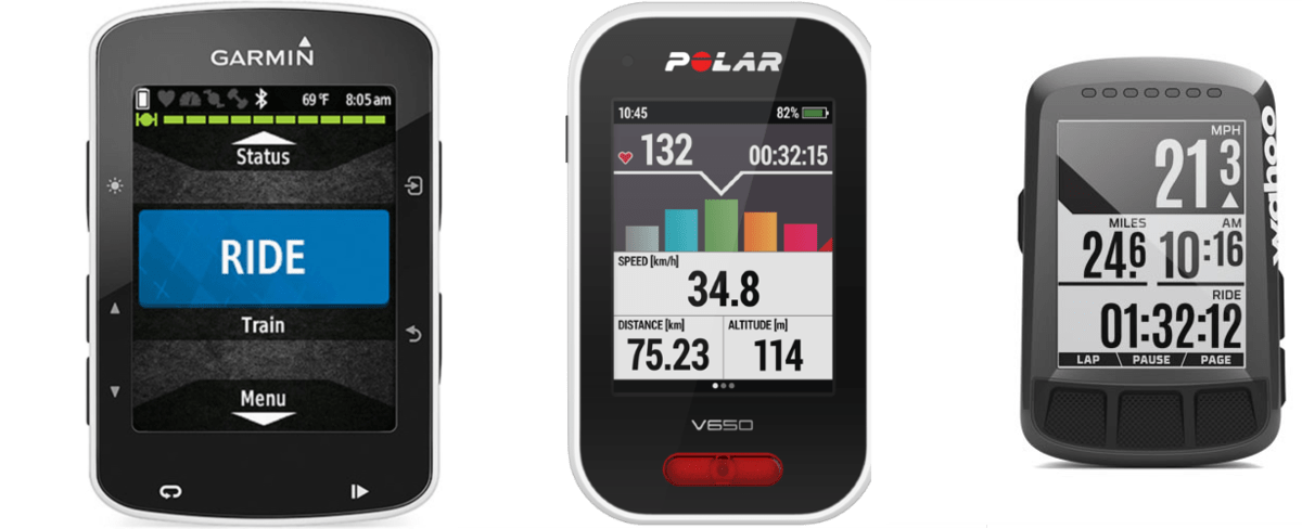 Garmin Edge 520 vs POLAR V650 vs Wahoo ELEMNT BOLT GPS Cycling Computer