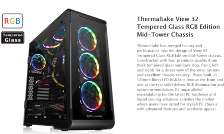 Thermaltake View 32 TG Tempered Glass RGB Edition Review –  Mid-Tower Chassis
