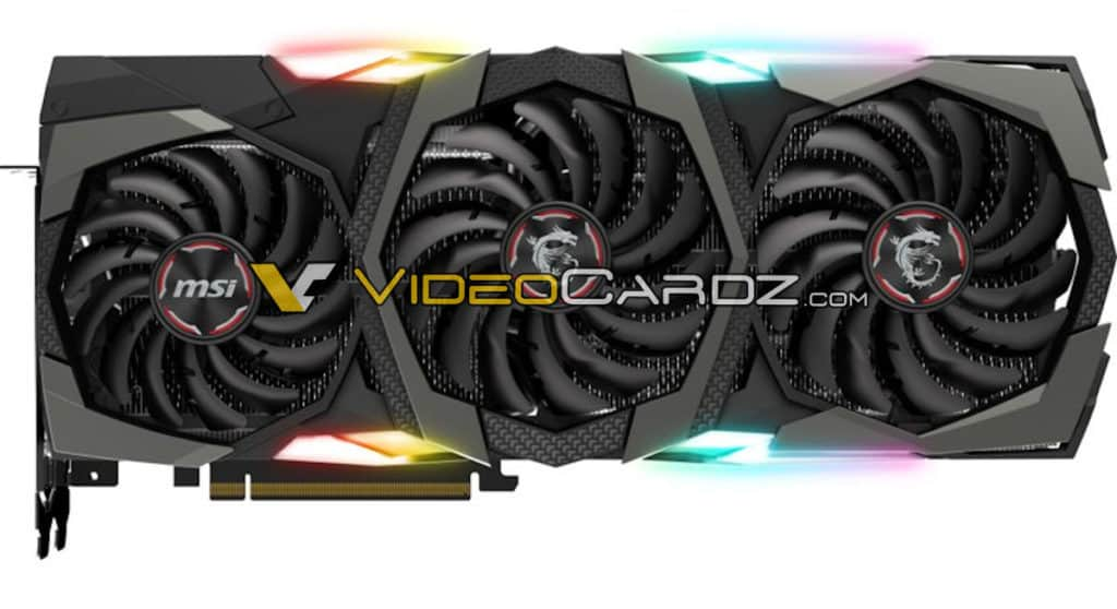 MSI NVIDIA GeForce RTX 2080 Ti 11 GB GDDR6 & RTX 2080 Gaming X Trio 8 GB GDDR6 Custom Graphics Card Leaked 4