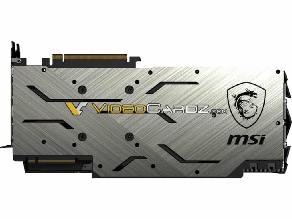 MSI NVIDIA GeForce RTX 2080 Ti 11 GB GDDR6 & RTX 2080 Gaming X Trio 8 GB GDDR6 Custom Graphics Card Leaked 5