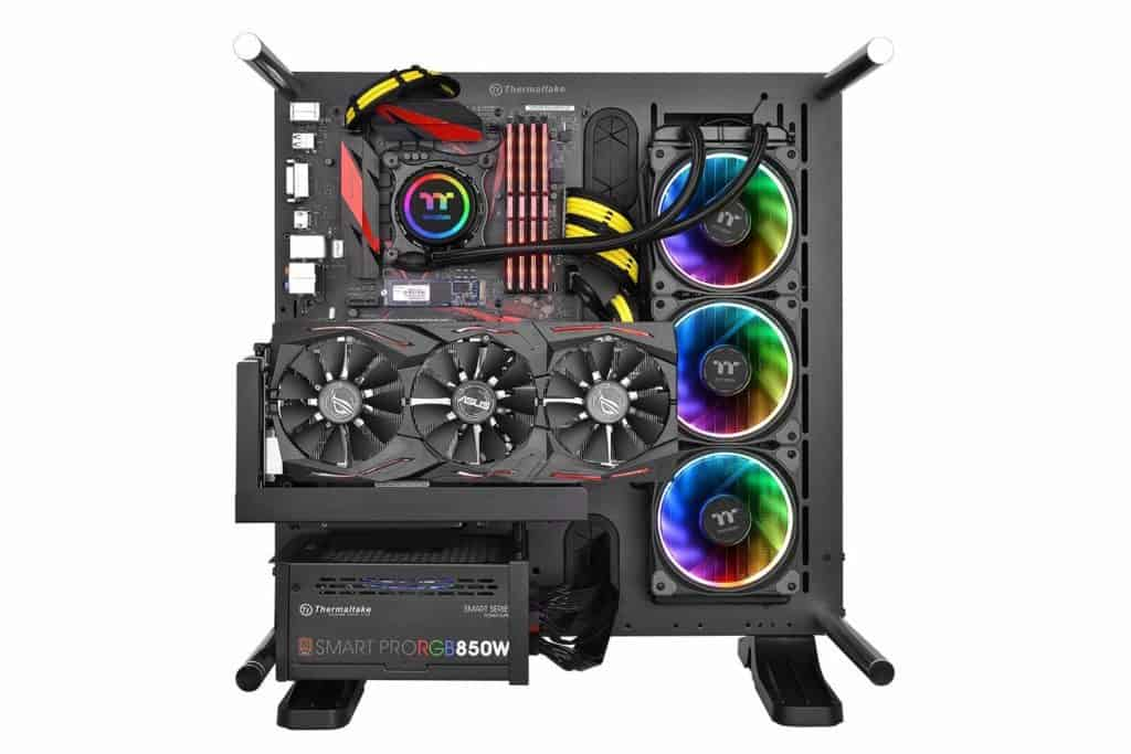 Thermaltake 360mm Floe Riing RGB Premium Edition All In One CPU Water Cooler Review 2