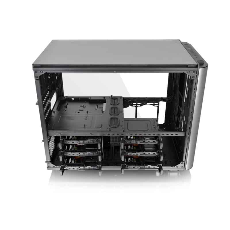 Thermaltake Level 20 XT Cube Chassis Review - The ultimate watercooling PC case 7