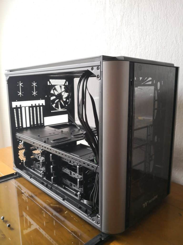 Thermaltake Level 20 XT Cube Chassis Review - The ultimate watercooling PC case 25