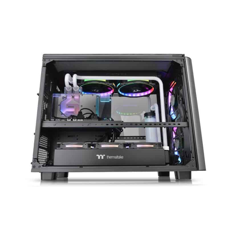 Thermaltake Level 20 XT Cube Chassis Review - The ultimate watercooling PC case 3