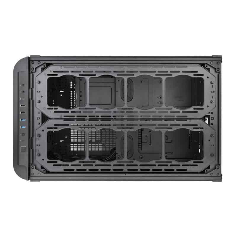Thermaltake Level 20 XT Cube Chassis Review - The ultimate watercooling PC case 11