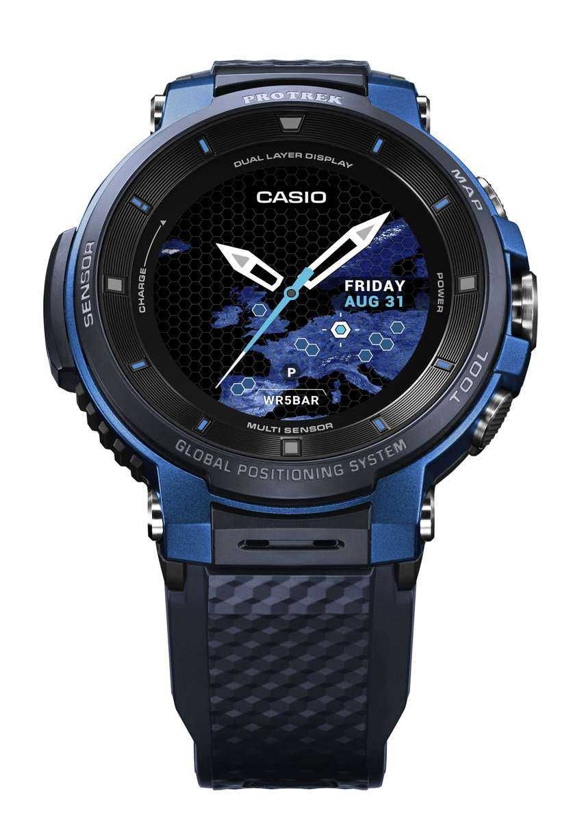 Casio announce WSD-F30 PRO TREK Smart with Colour Maps  Usable for Up to Three Days 6