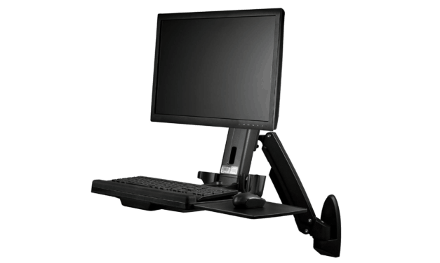 Startech Wall-Mounted Sit-Stand Desk Review – Single Monitor