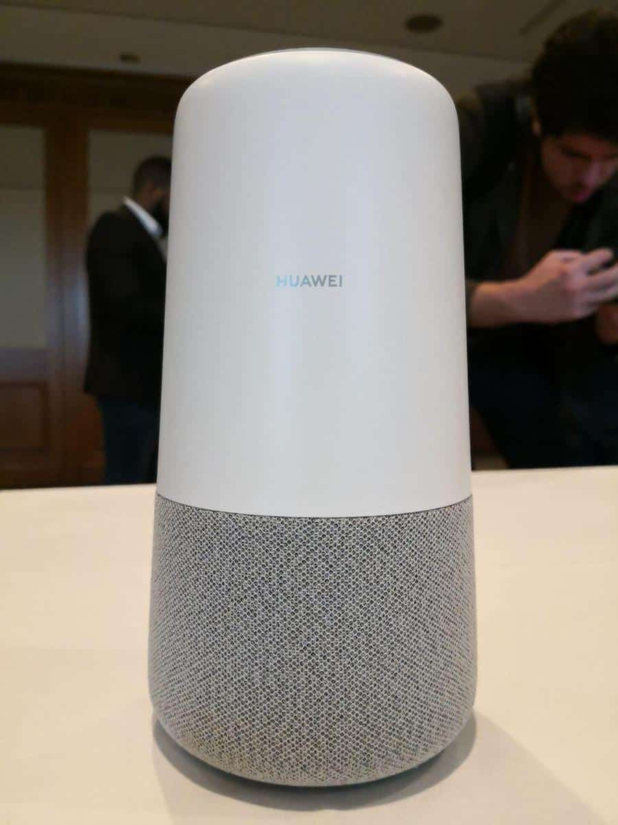 Huawei Announce AI Cube Smart Speaker and 4G Router with Alexa 4